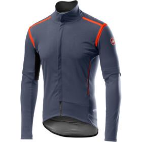 Castelli Perfetto RoS Kurtka rowerowa z odpinanymi rękawami Mężczyźni, dark/steel blue